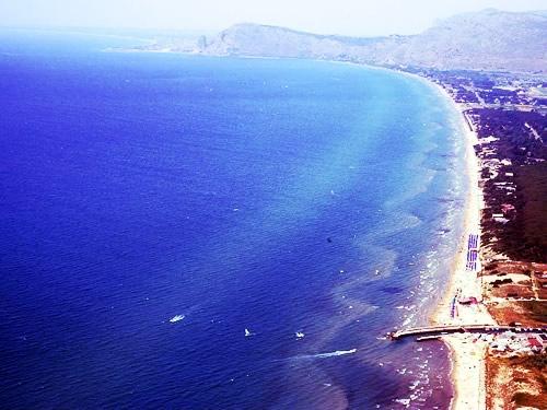 mare spiagge lido latina circeo foto
